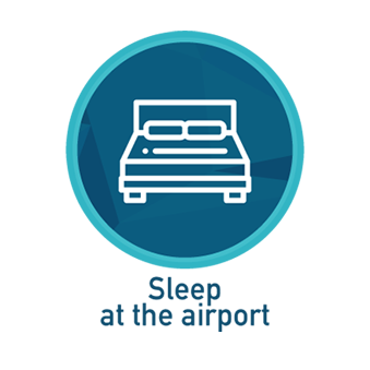 sleep at the airport